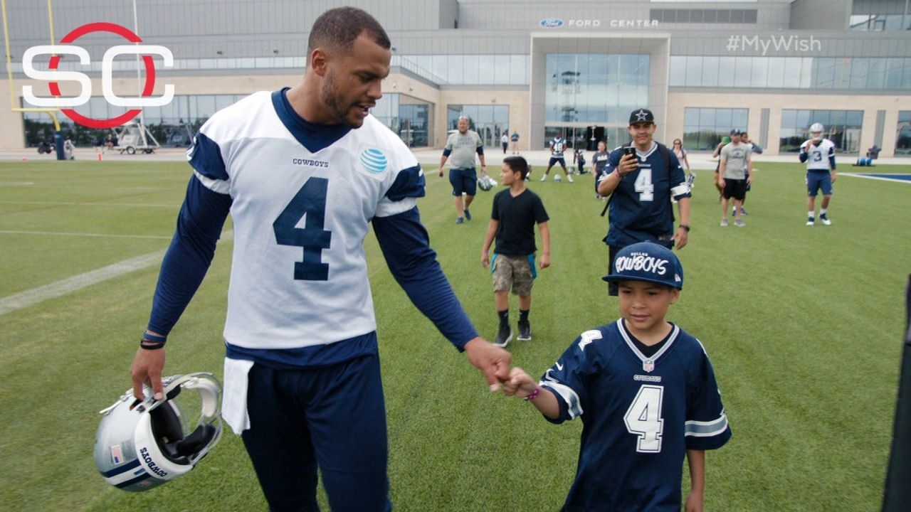 My Wish: Raymond meets Dak Prescott