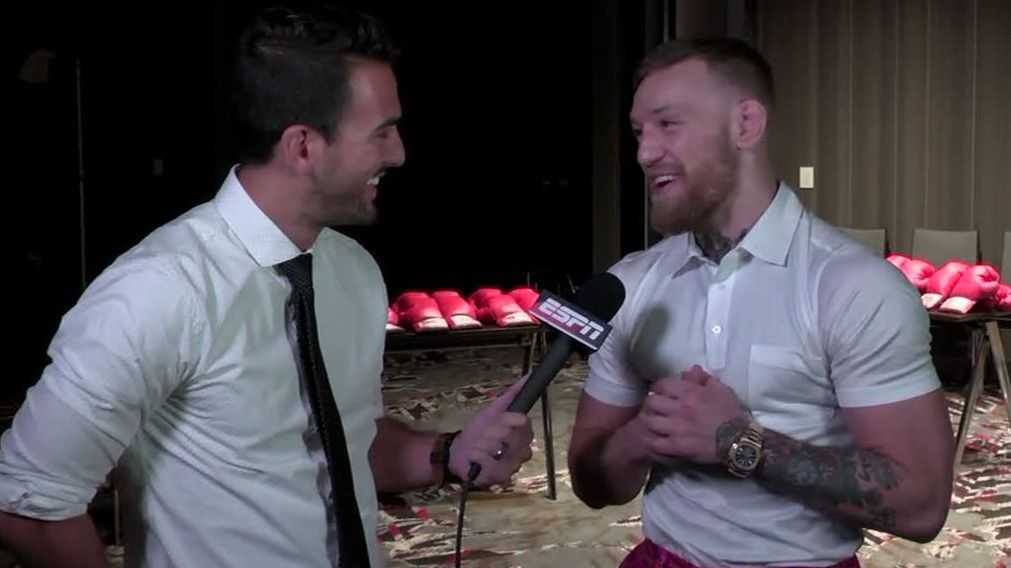 McGregor calls fatherhood 'eye-opening'