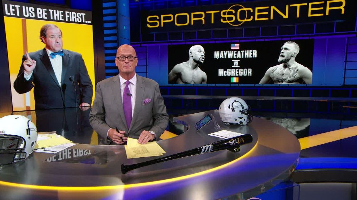SVP all-in on Mayweather against McGregor