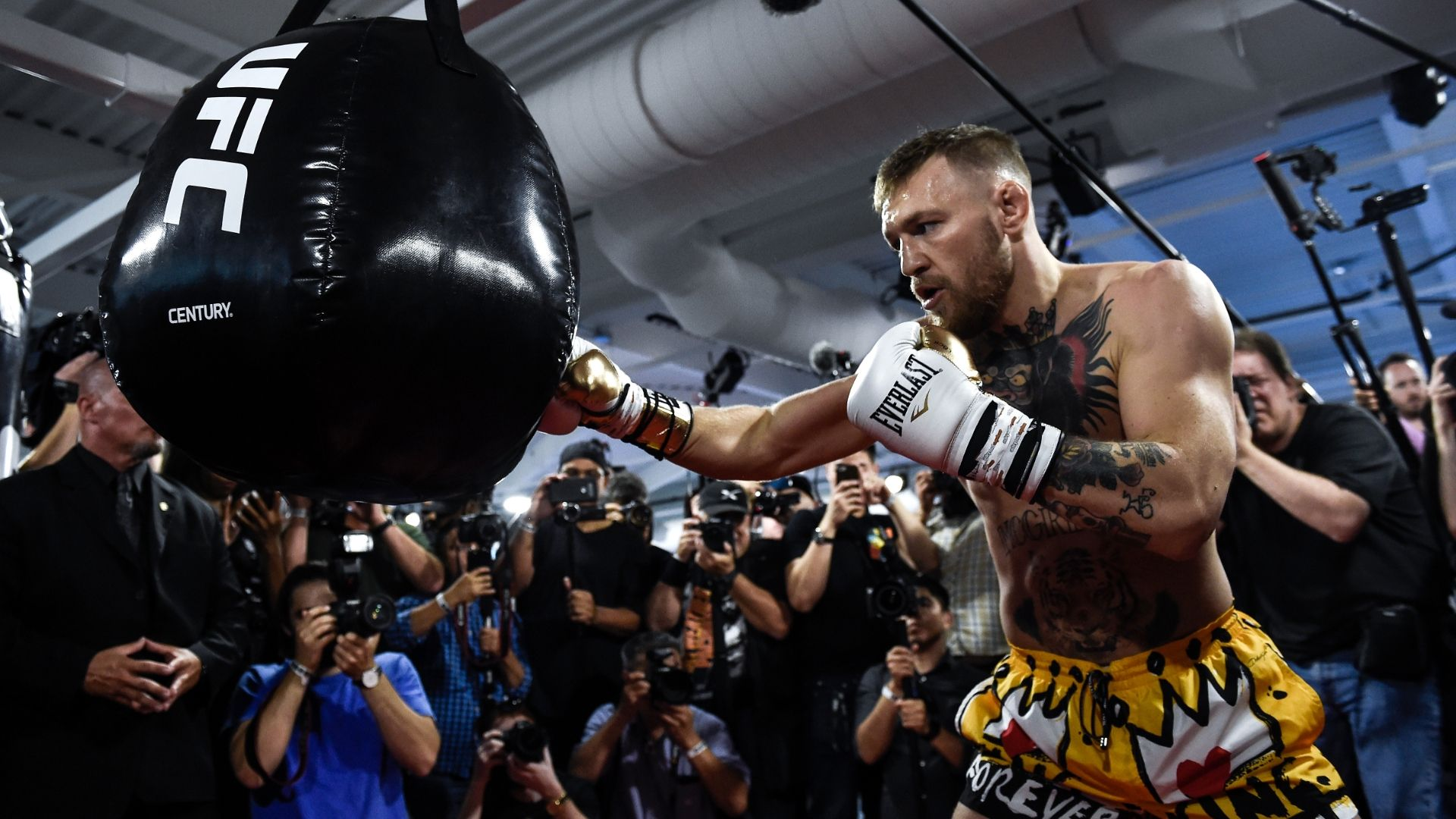 McGregor ready to shut down doubters