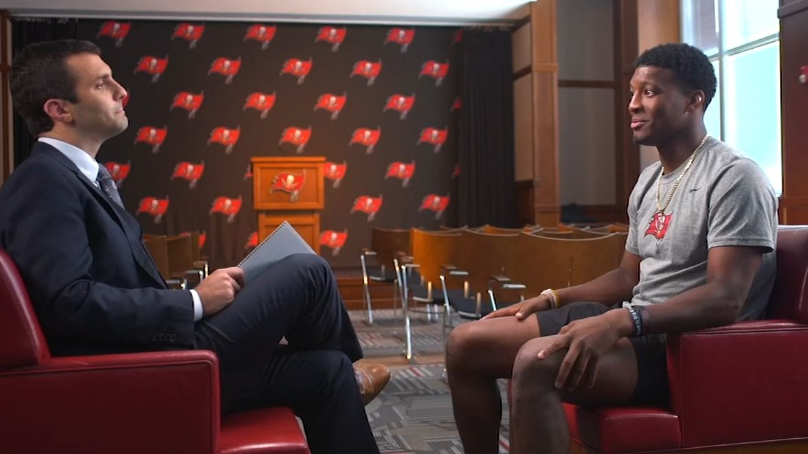 Winston's behind-the-scenes tour of Bucs' facility