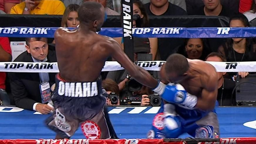 Crawford finishes Indongo with body shot