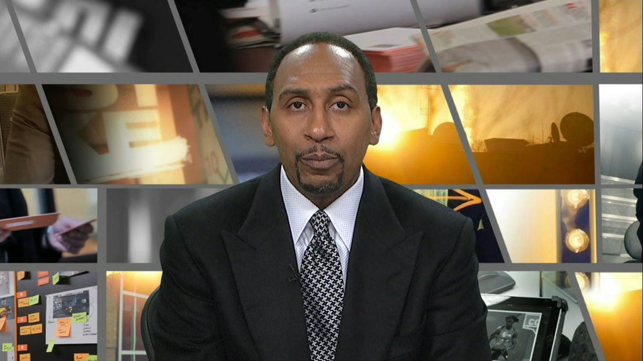 Stephen A. says Griffin should be recruiting LeBron to L.A.