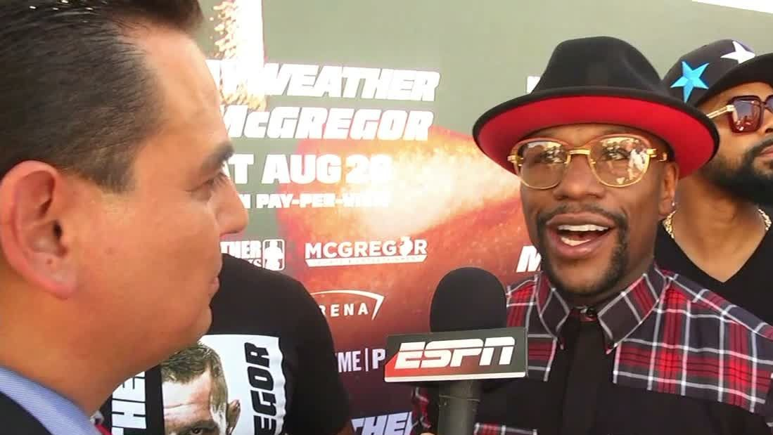 Mayweather: 'I know what it takes'