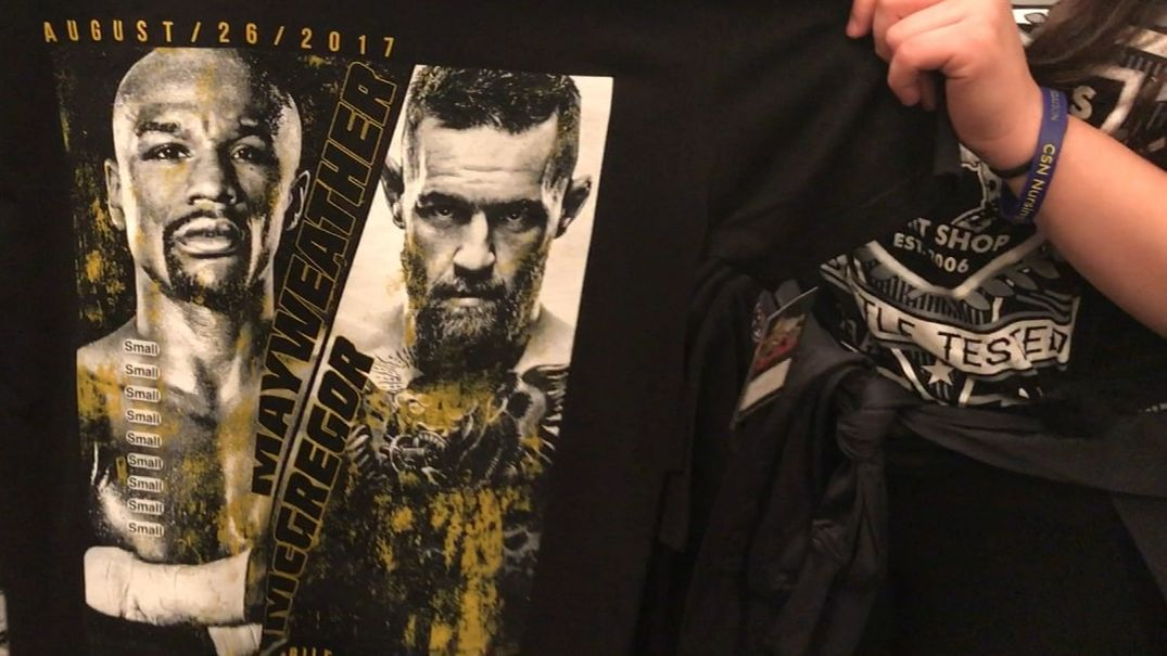 What is the best merchandise for Mayweather-McGregor fight?