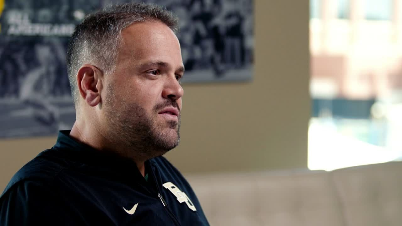 Rhule moving Baylor football forward