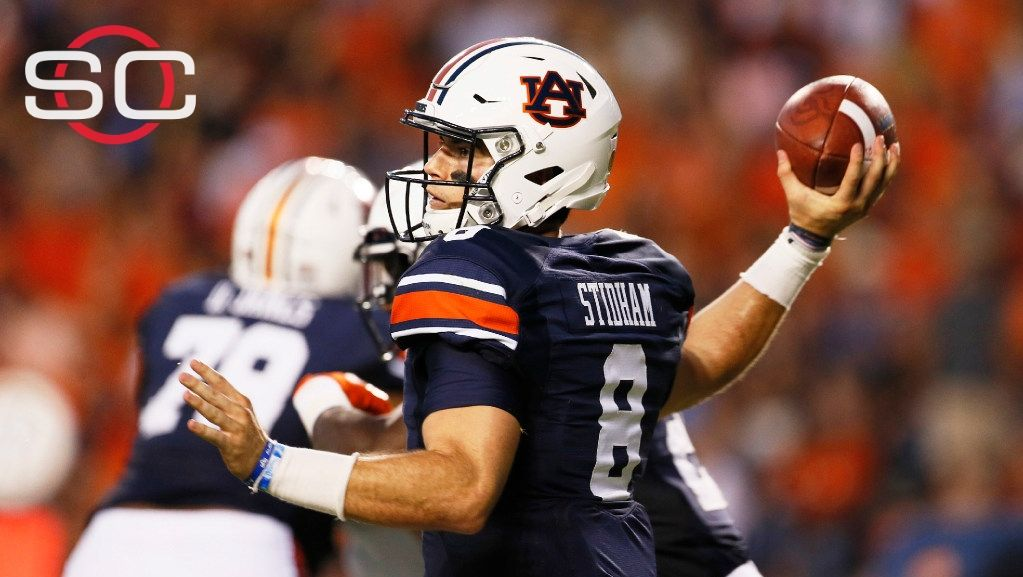 Stidham facing some tough defenses this season