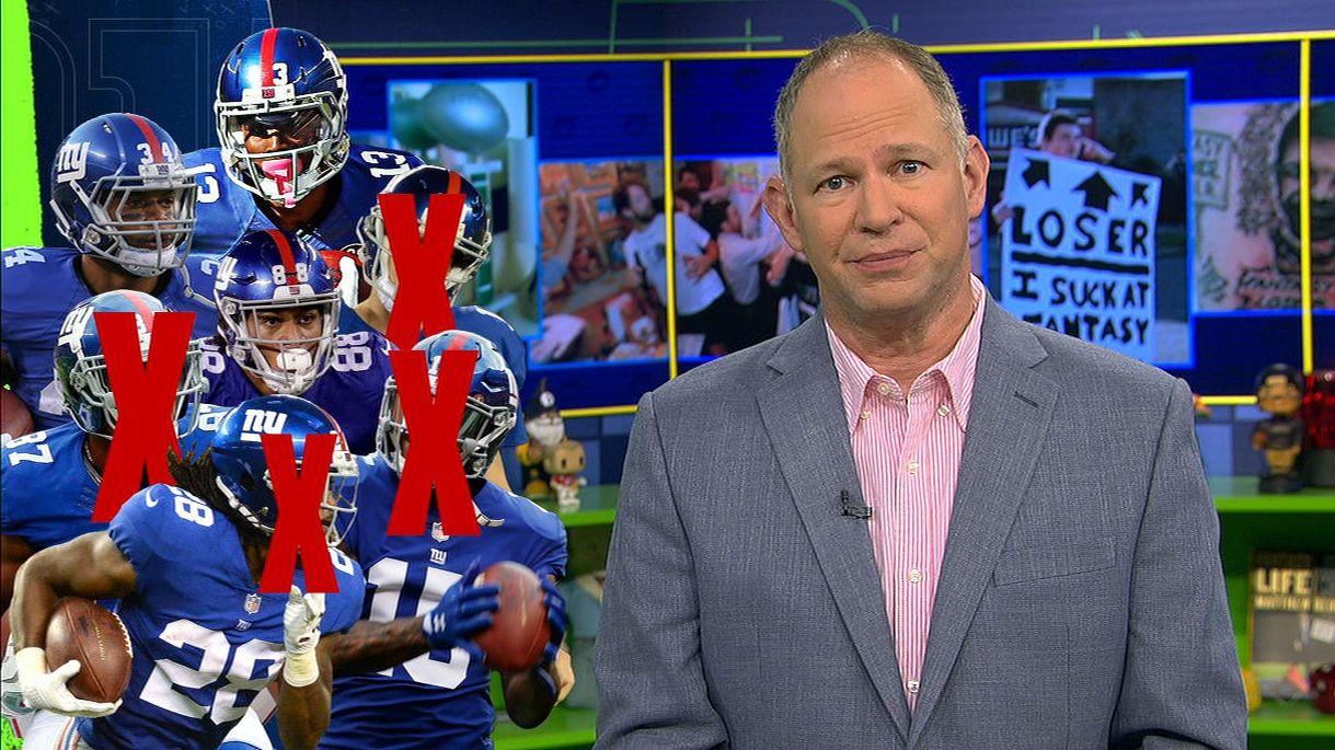 Avoid Giants on your fantasy team