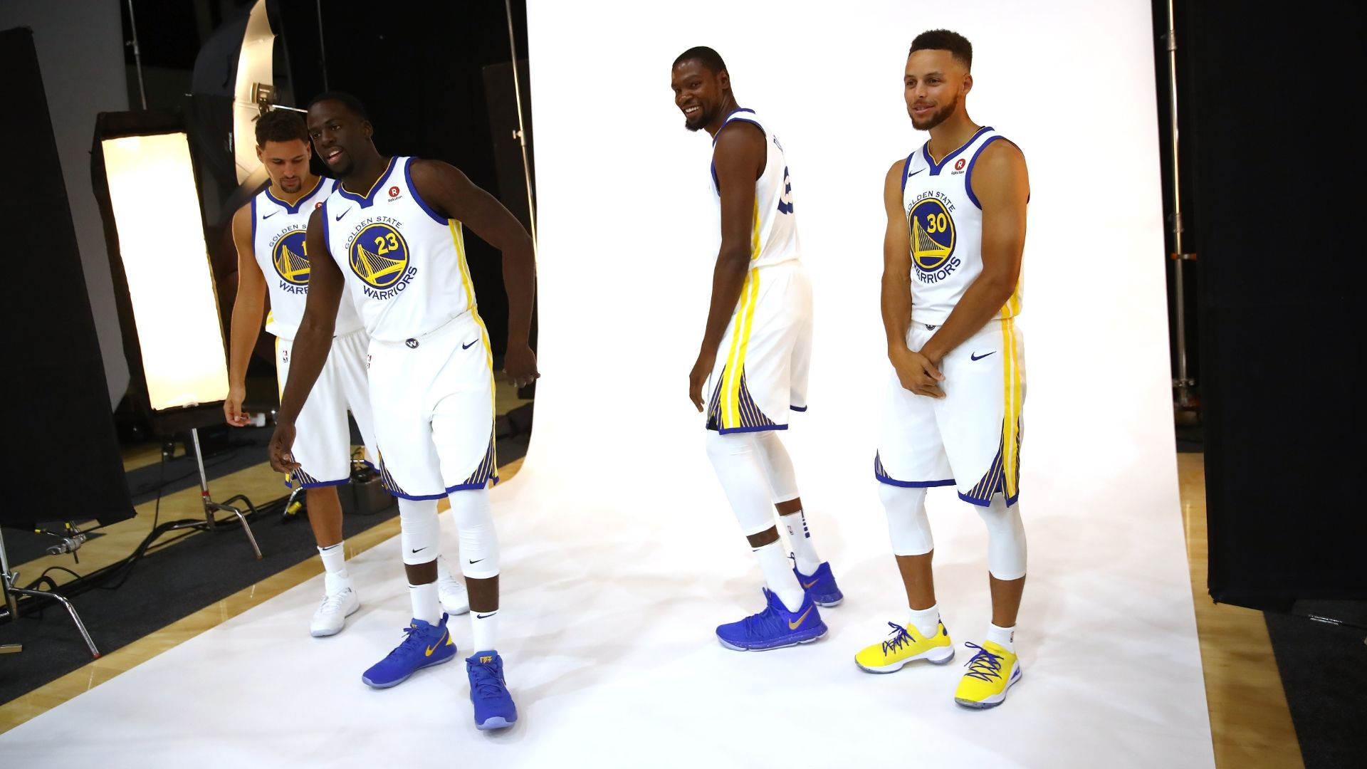 Warriors laugh off Durant's Twitter flap