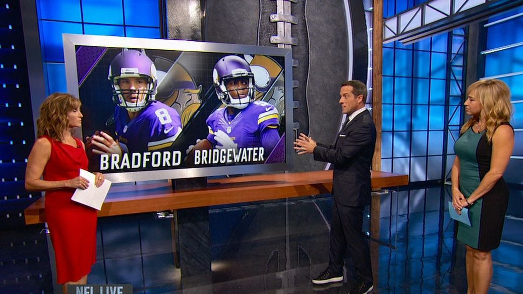 Bradford ruled out vs. Buccaneers
