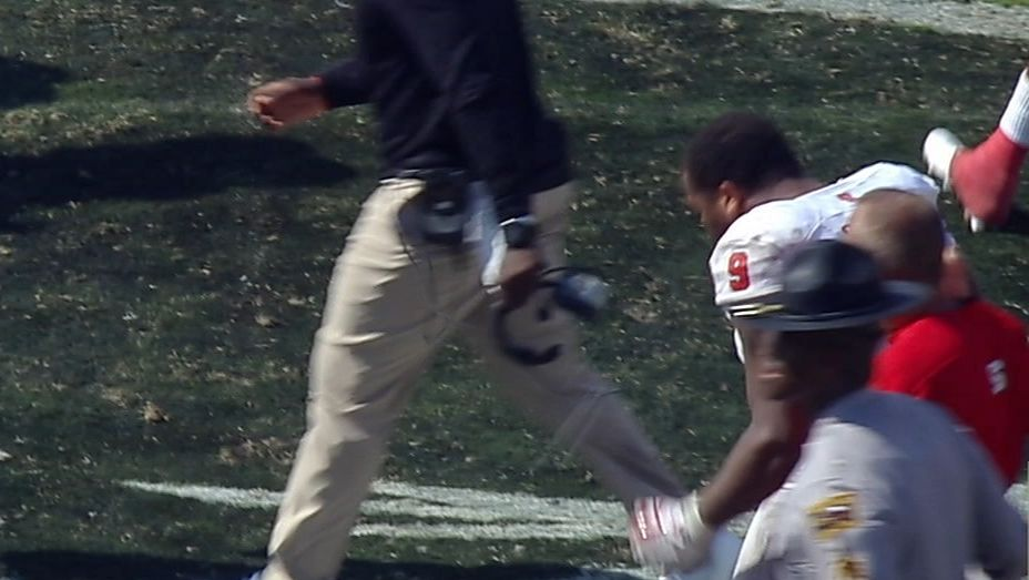 NC State player spits on Florida State logo