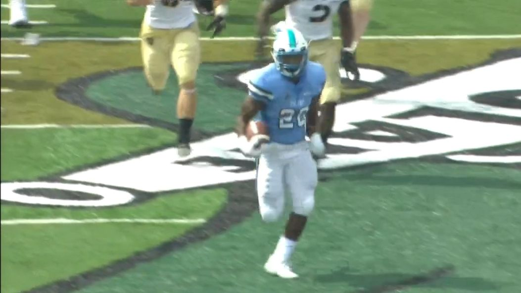 Tulane scores 75-yard TD on first play of the game