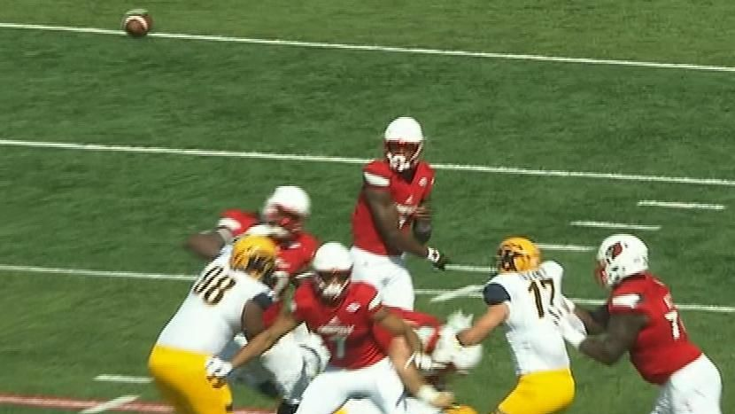 Jackson airs it deep to kick start offense