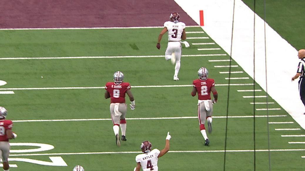 Kirk breaks free for 81-yard TD catch