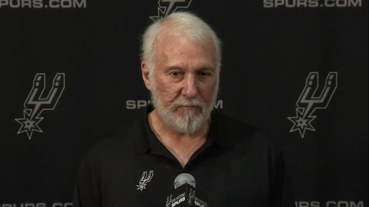 Popovich stresses importance of change