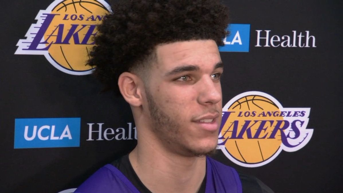 Ball says Lakers are ready to go