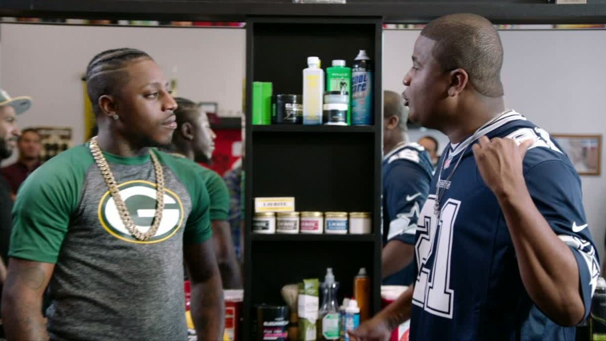 Battle rap hypes up Packers-Cowboys