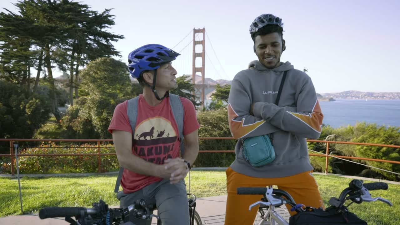 Nick Young gets his first taste of San Francisco