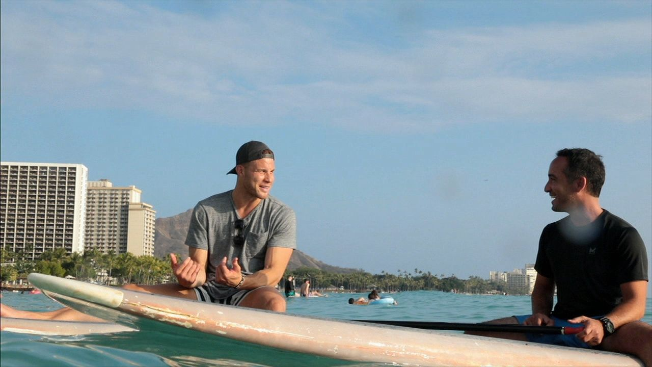 Griffin finds peace on the water in Hawaii