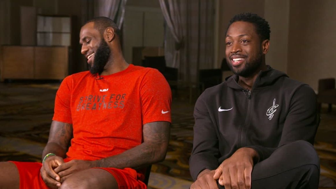 LeBron and Wade's bond is undeniable