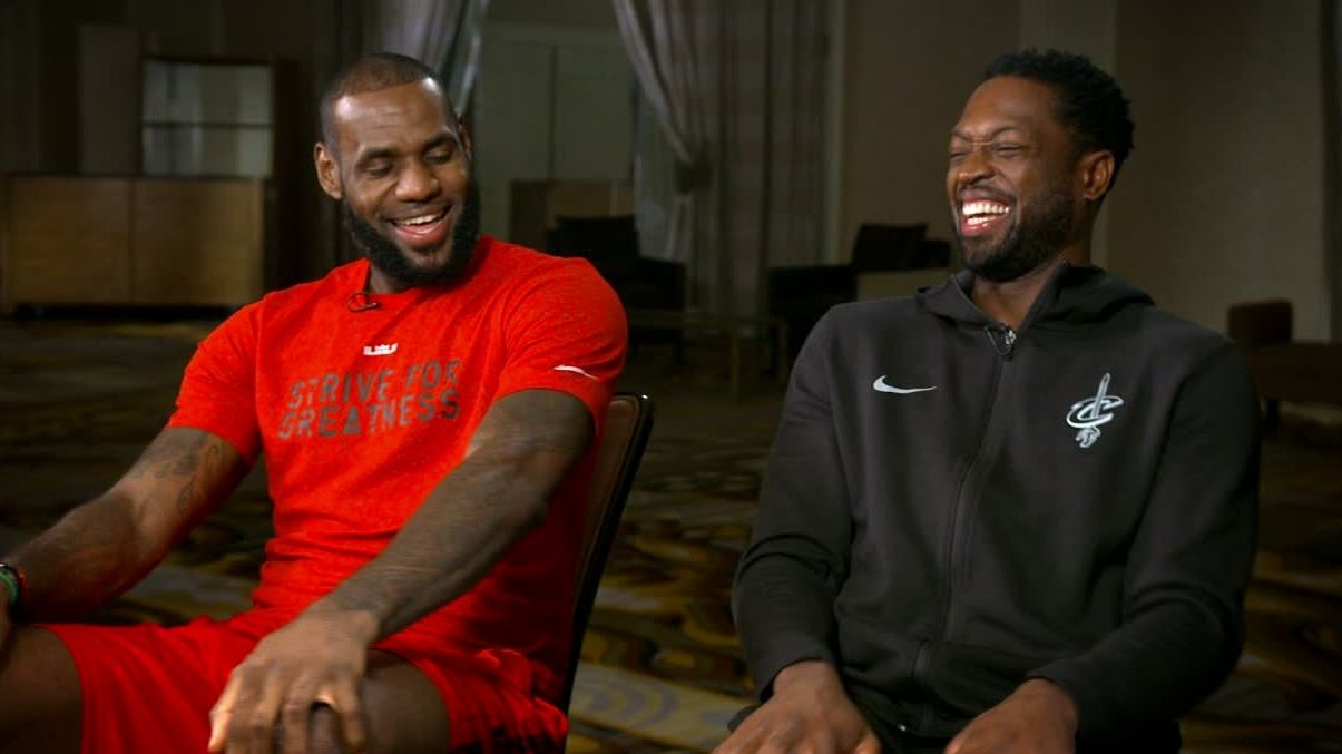 LeBron helping D-Wade acclimate in Cleveland