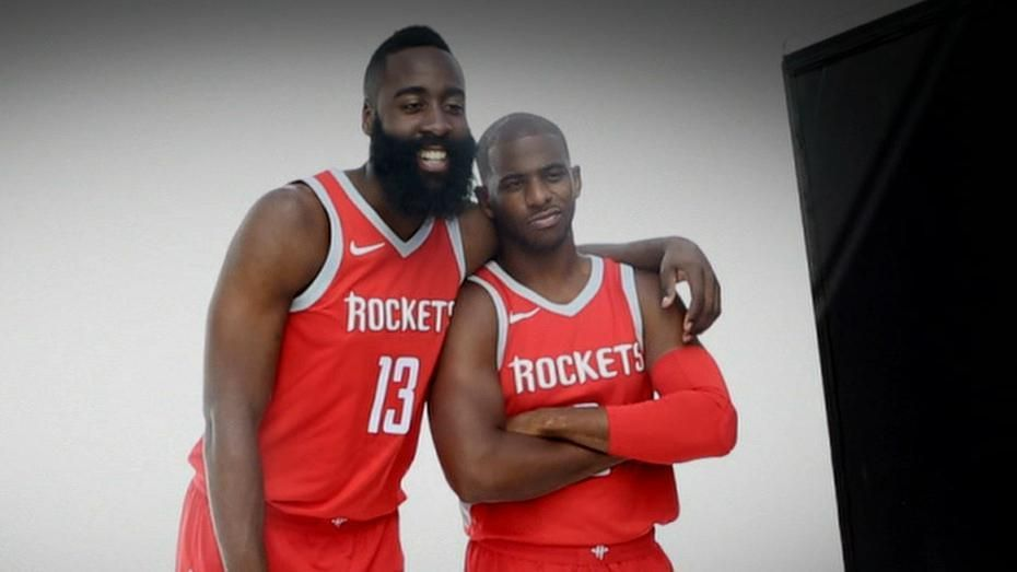 Harden, Paul excited with freedom of playing together
