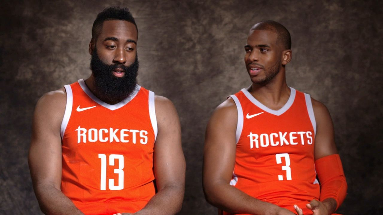 Harden, Rockets felt they needed another vet leader