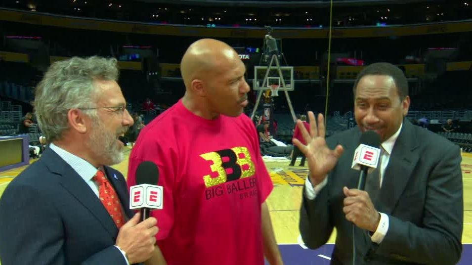 LaVar's comments have Stephen A. in disbelief