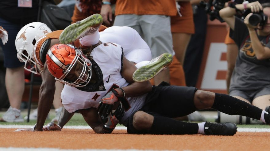 Oklahoma State survives with OT win over Texas
