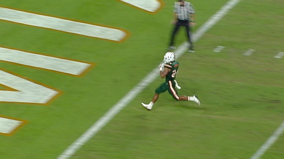 Homer rushes 33 yards to the house