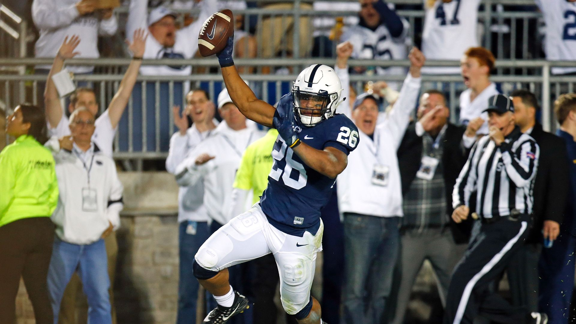 Barkley helps Heisman case in White Out rout