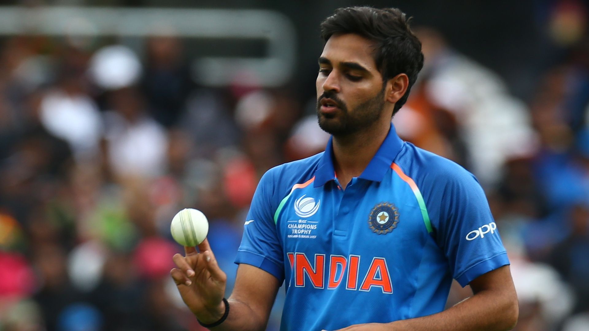 Bhuveshwar Kumar will be the key to India's WC 2019 campaign. (Getty)