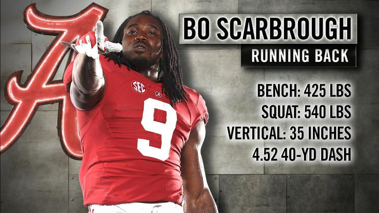 Tebow's Freak of the Week: Bo Scarbrough