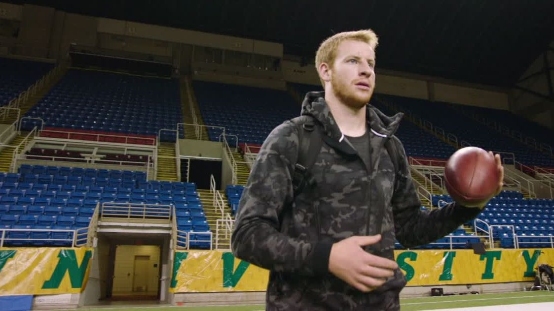 Wentz's North Dakota roots