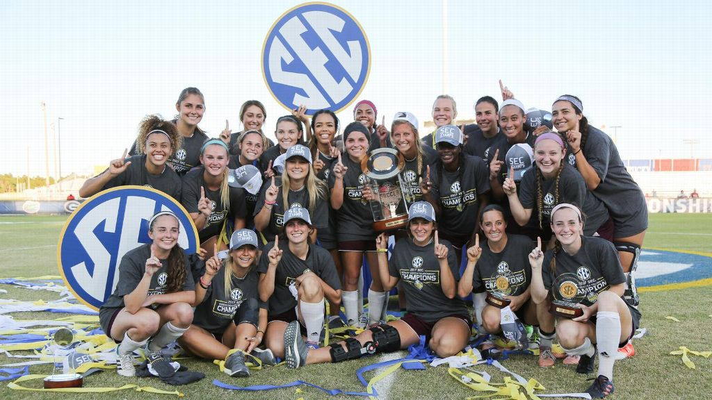 Texas A&M wins 2017 SEC Soccer Championship