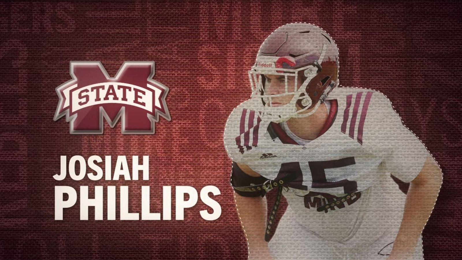 I am the SEC: Mississippi State's Josiah Phillips