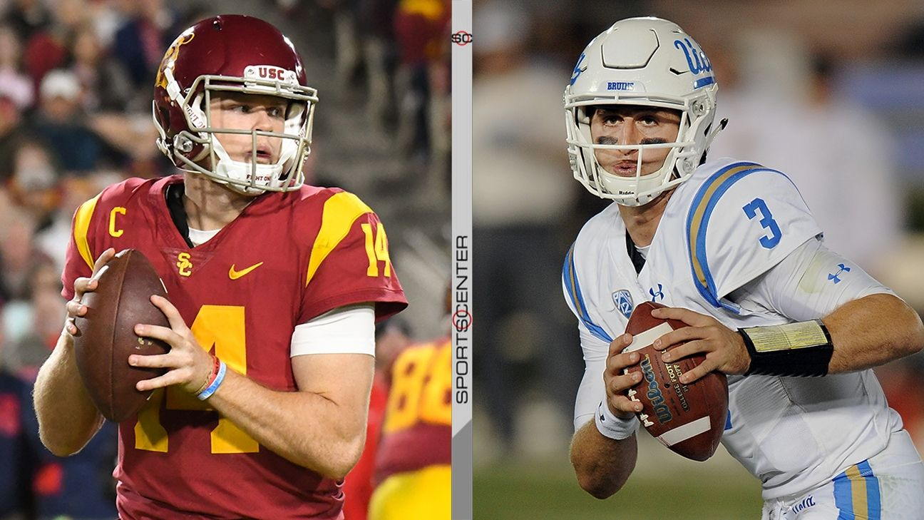 Top QBs on display for USC-UCLA
