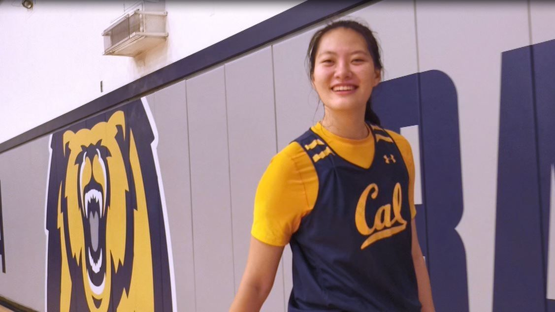 Despite making history, Cal's Chen just aspires to be the best version of herself