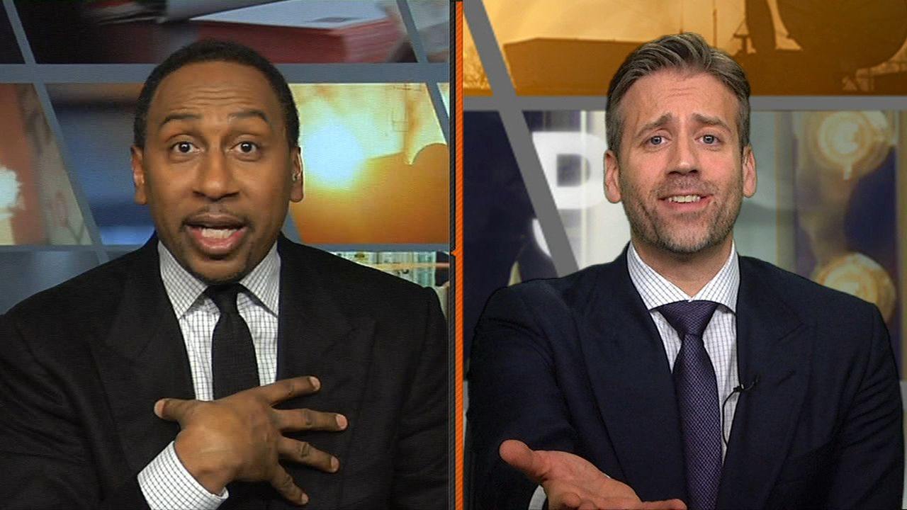 Stephen A. can't decide if Dak is better than Wentz