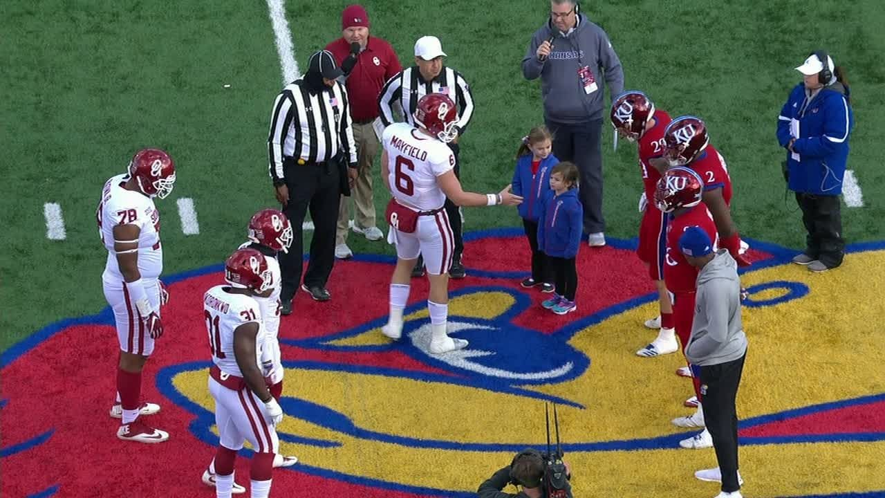 Mayfield snubbed during pregame handshake