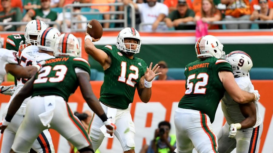 Miami fends off Virginia to stay undefeated