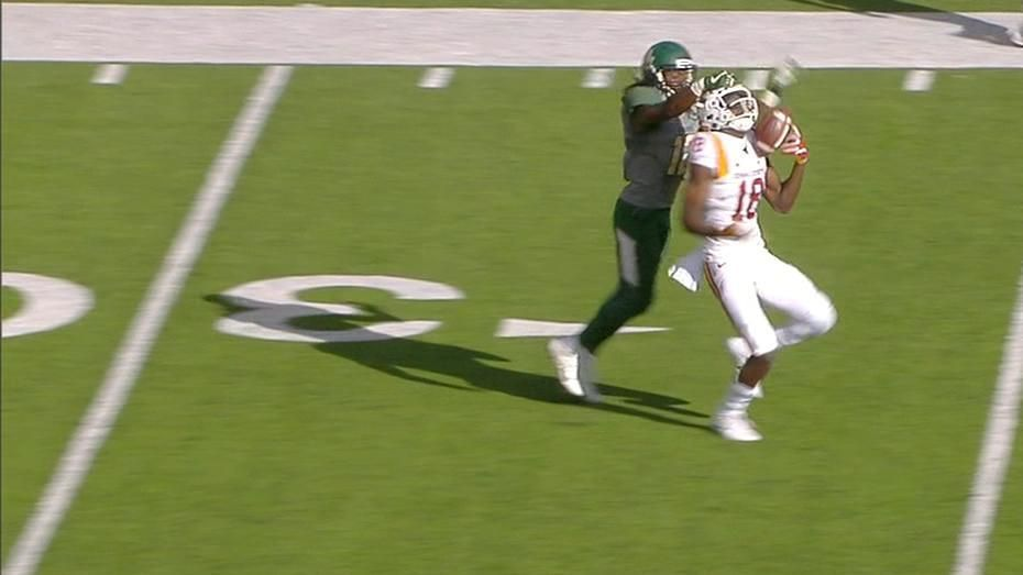Iowa State's Butler reels in one-handed grab for 67-yard TD
