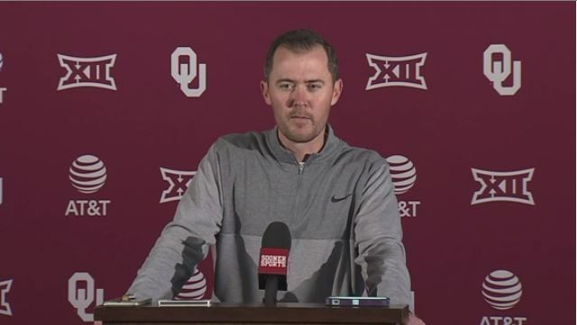 Riley says Mayfield won't start but will play vs. WVU