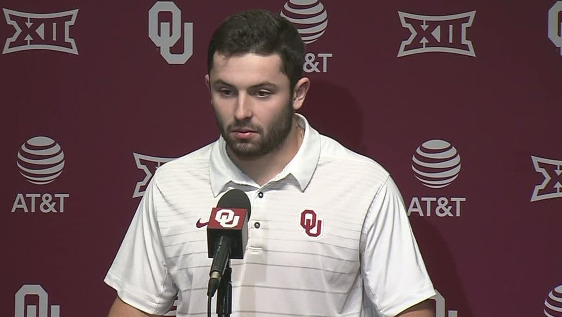 Mayfield gets choked up talking about punishment