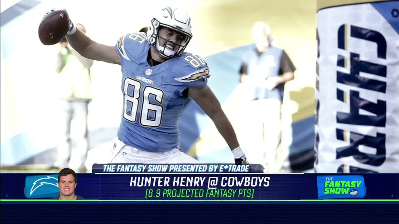 Hunter Henry is a risky play in Week 12