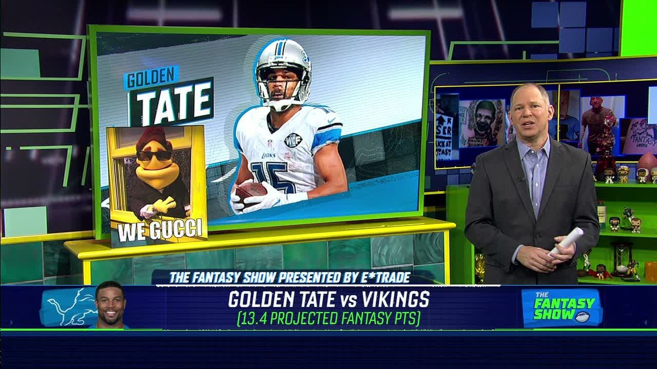 Golden Tate should have big day on Thanksgiving