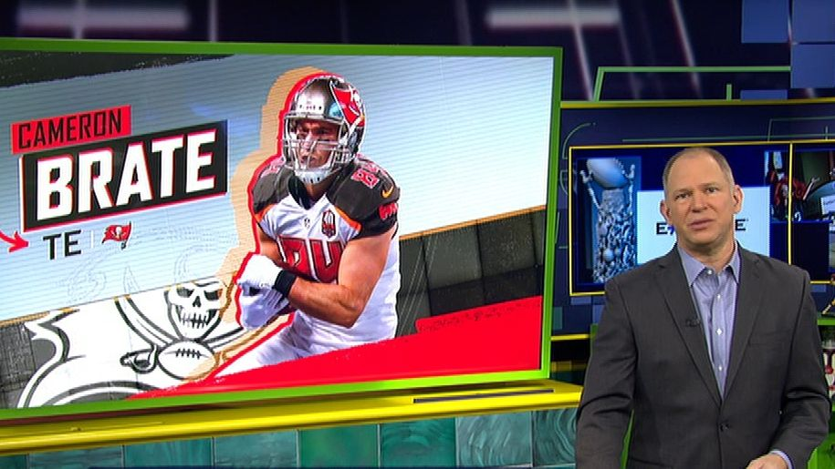 Berry: Brate well outside top 15 TE's