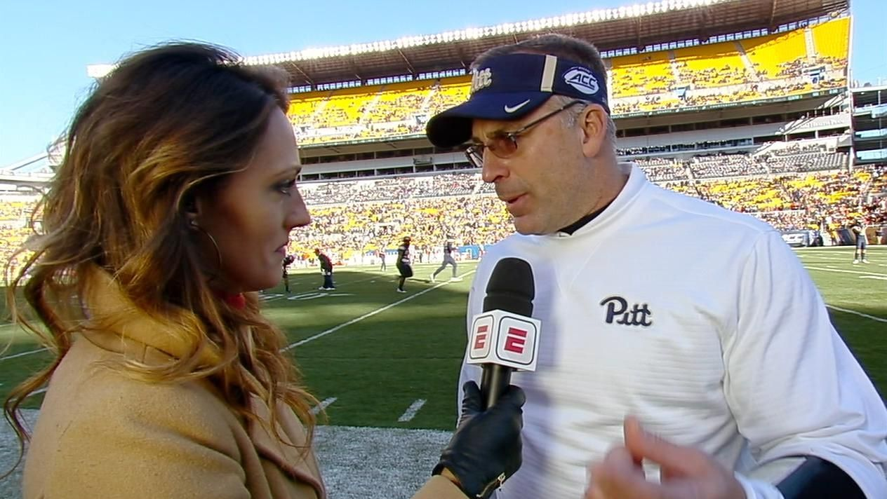 Pitt coach guarantees win at halftime
