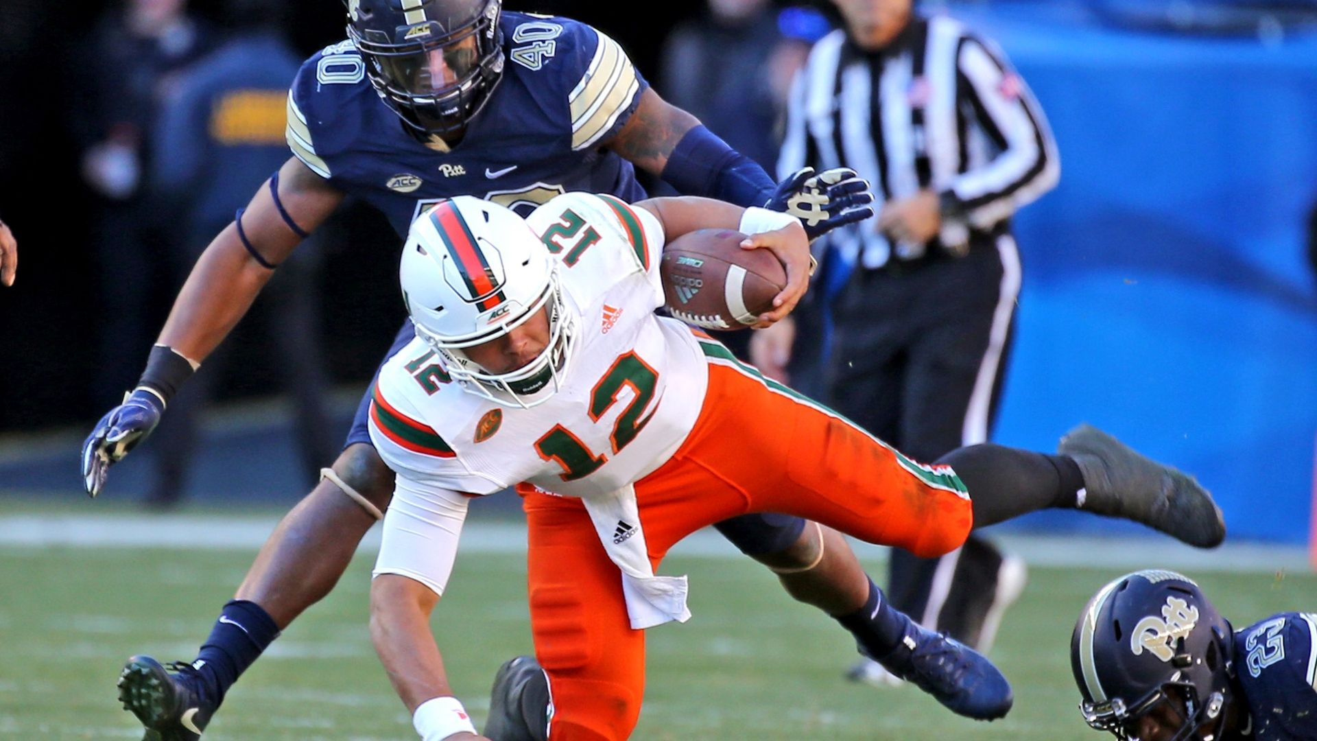 Pitt's upset of No. 2 Miami is history repeated