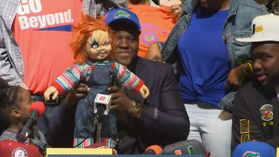 Chatfield channels Chucky while picking Florida
